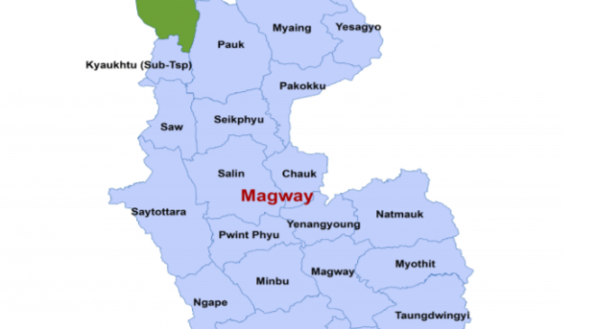 Magway map
