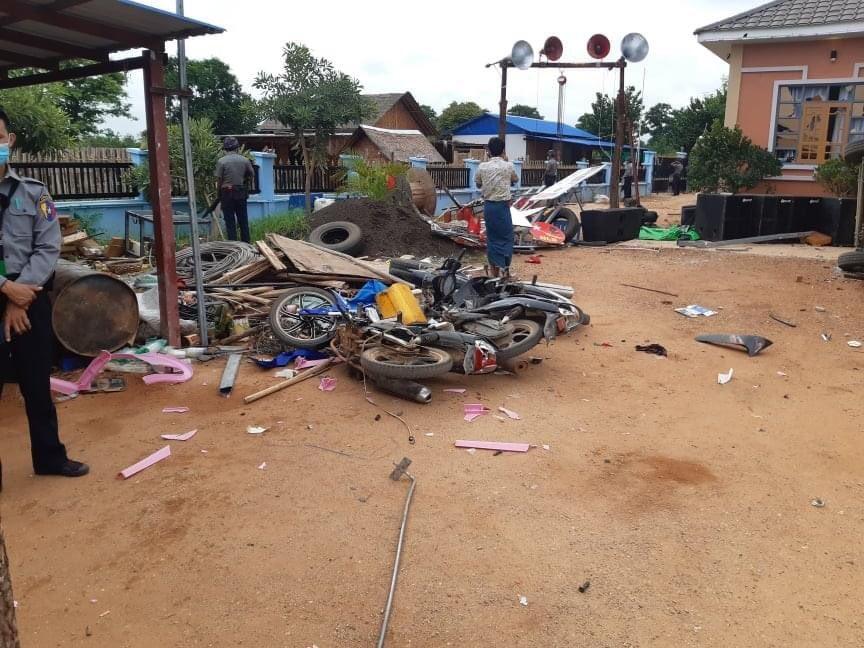 ကန်နီရွာက အန်အယ်လ်ဒီမြို့နယ်အလုပ်အမှုဆောင်ရဲ့အိမ်ဖျက်စီးခံရတာနဲ့ပတ်သက်လို့ သူတို့တတွေ ဘာပြောကြသလဲ