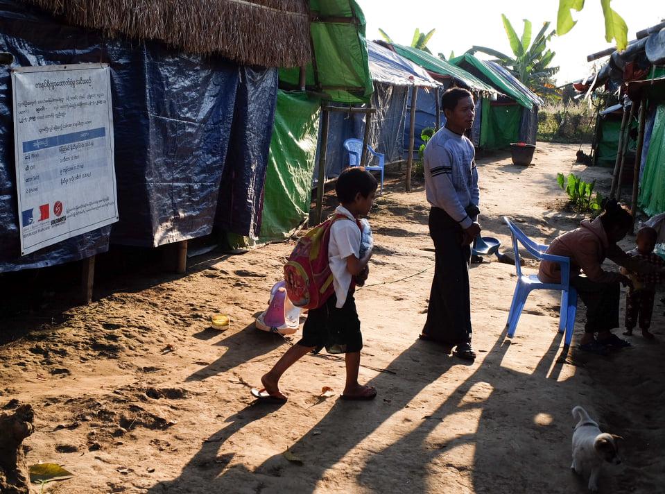 စစ်ရှောင်စခန်းတွေမှာ ပါတီတွေမဲဆွယ်ရ အခက်အခဲဖြစ်နေ