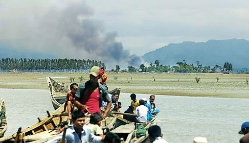 ရိုဟင်ဂျာတွေပြန်လက်ခံရေး မြန်မာ၊ တရုတ်၊ ဘင်္ဂလားဒေ့ရှ် သုံးပွင့်ဆိုင် ဆွေးနွေးဖွယ်ရှိ