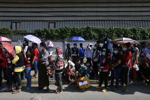 တရားမဝင် ရွှေ့ပြောင်းလုပ်သားတွေကို အလုပ်လုပ်ကိုင်ခွင့် အထူးပါမစ်ထုတ်ပေးဖို့ ထိုင်းအစိုးရစီစဉ်
