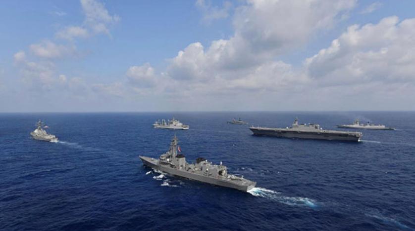 တရုတ်ကိုတန်ပြန်ဖို့ အမေရိကန်၊ ဂျပန်နဲ့ပြင်သစ်တို့ ရေတပ်ပူးတွဲစစ်ရေး လေ့ကျင့်