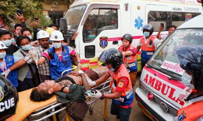 မြန်မာအရပ်သားတွေ ပစ်သတ်ခံရမှု ခွင့်လွှတ်နိုင်စရာမရှိလို့ စင်ကာပူပြော၊ နောက်ထပ်အရေးယူပိတ်ဆို့ဖို့ ဗြိတိန်ပြင်ဆင်နေ