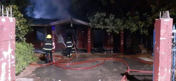 တောင်သမာန်ကျေးရွာအုပ်စု အုပ်ချုပ်ရေးမှူးရုံး မီးလောင်မှုဖြစ်ပွားခဲ့