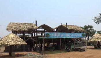 ပုဂံ- ကျောက်ပန်းတောင်း ကားလမ်းဘေးက အလှဆင်ထန်းတဲဆိုင်တွေ ချေးငွေပြန်ဆပ်ဖို့ အခက်တွေ့