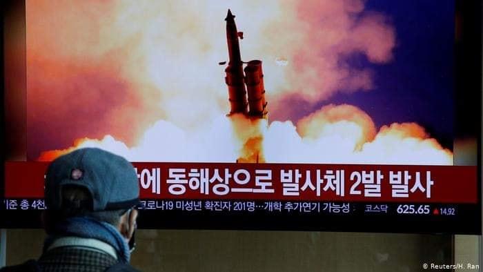 ဂျပန်ပင်လယ်ပြင်သို့ဦးတည်ကာ ပဲ့ထိန်းဒုံးပျံတစ်စင်းကို မြောက်ကိုရီးယား ပစ်ခတ်စမ်းသပ်ပြန်