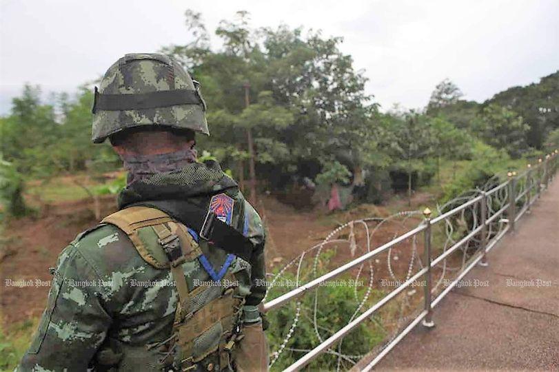 လက်နက်မှောင်ခိုတင်သွင်းမှုကြောင့် ထိုင်း-မြန်မာနယ်စပ်မှာ လုံခြုံရေးတပ်လှန့်ထား