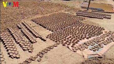 တပ်ကြီးကျေးရွာက ဆီးမီးခွက်လုပ်ငန်း