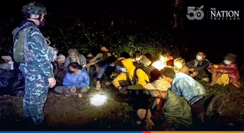 ထိုင်းကို တရားမ၀င်သွားတဲ့ မြန်မာ ၄၈ ယောက် ချင်းမိုင်မှာ အဖမ်းခံရ