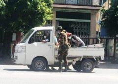 ပြည်မြို့ထဲက စစ်ဆေးရေးဂိတ်မှာ ဗုံးကွဲပြီး သေဆုံးသူနဲ့ ဒဏ်ရာရသူတွေရှိ