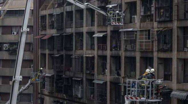 ထိုင်၀မ်မှာ အထပ်မြင့်အဆောက်အအုံမီးလောင်ကျွမ်းမှု ၄၆ ဦးသေဆုံး ၈၀ နီးပါးဒဏ်ရာရ