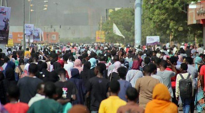ဆူဒန်အာဏာသိမ်းမှု ဆန့်ကျင်ဆန္ဒပြသူတွေကို စစ်တပ်က ပစ်သတ်