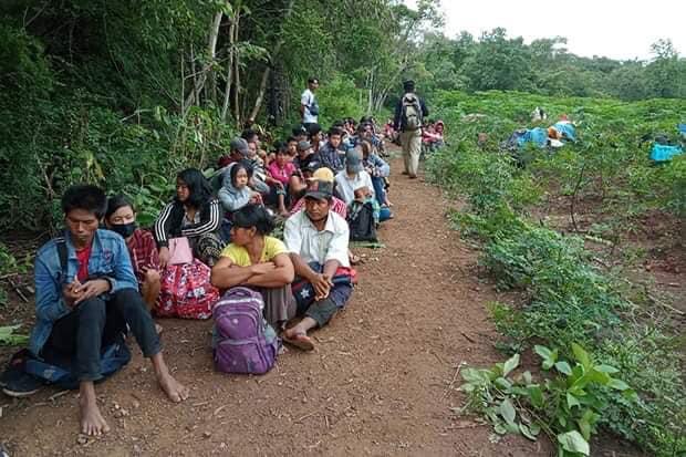 ထိုင်းကိုခိုး၀င်တဲ့ မြန်မာအလုပ်သမား ၁၂၀ ဦးဖမ်းဆီးခံရပြန်